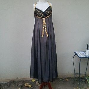 Vintage bronze goddess lingerie
